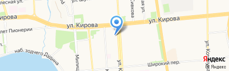Георгий на карте Ижевска