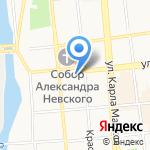 Товарищ СОЛ на карте Ижевска
