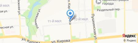 Beerлога на карте Ижевска