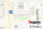 Схема проезда до компании Общество слепых в Ижевске