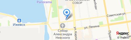 Кофе Семь на карте Ижевска