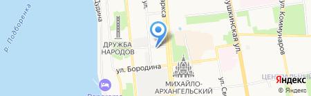 Атриум на карте Ижевска