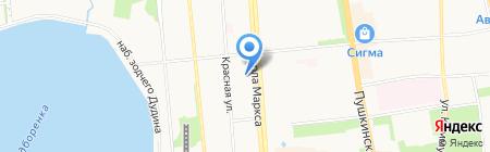 Izhteplolife на карте Ижевска