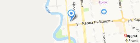 АЗС на карте Ижевска