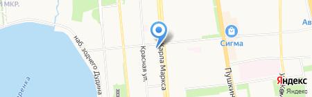 ЖЭУ №2 на карте Ижевска