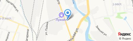 Компас на карте Ижевска