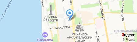 Хочу-Диплом на карте Ижевска