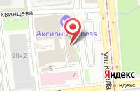Схема проезда до компании Телесемь в Ижевске в Ижевске