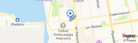 Детектор Лжи на карте Ижевска