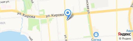 Минутка на карте Ижевска