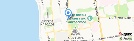 1921 на карте Ижевска