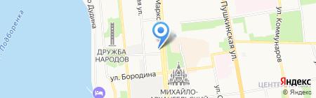 ЭЛМИ на карте Ижевска