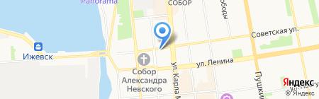 Кофелэнд на карте Ижевска