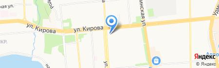 Дон бетон на карте Ижевска