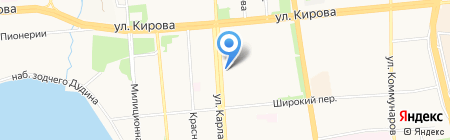 Фемида на карте Ижевска