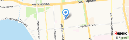 ВБРР на карте Ижевска