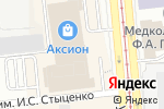 Схема проезда до компании Bikini в Ижевске