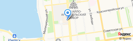 Четвертое измерение на карте Ижевска