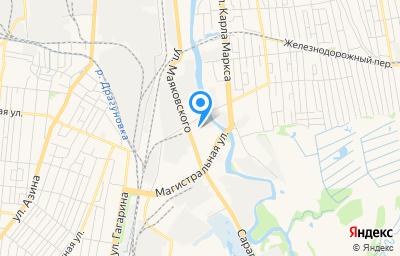 Местоположение на карте пункта техосмотра по адресу г Ижевск, ул Маяковского, д 27