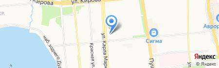 Свежий ветер на карте Ижевска