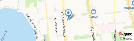 Mini Boss на карте Ижевска