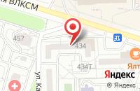 Схема проезда до компании Фабрика Рекламы в Ижевске