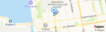 Электроприборкомплект на карте Ижевска