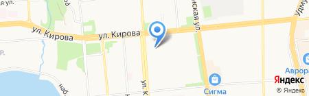 Детский сад №2 на карте Ижевска