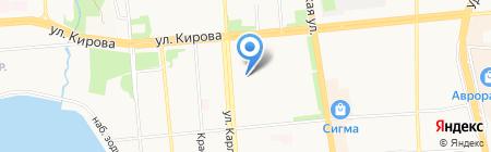 Детский сад №81 на карте Ижевска