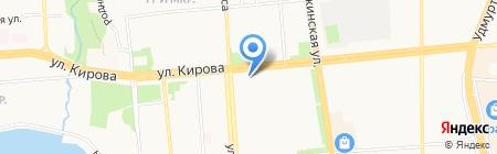 Оникс-строй на карте Ижевска