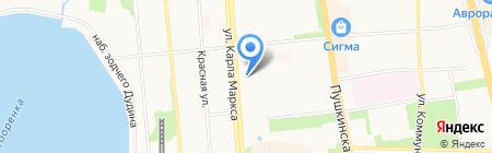 Приятная встреча на карте Ижевска