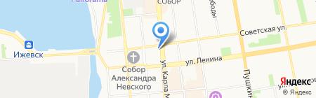 Нотариус Марданшина С.М. на карте Ижевска