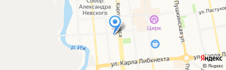 ДАЙМЭКС на карте Ижевска