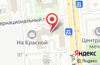 Схема проезда до компании Компас в Ижевске