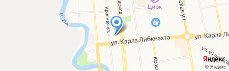 Детский сад №32 на карте Ижевска