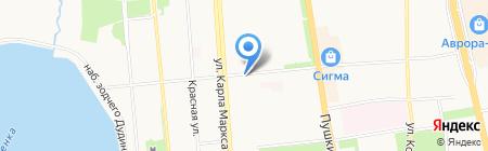 Государственная противопожарная служба Удмуртской республики на карте Ижевска