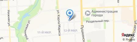 Савва на карте Ижевска