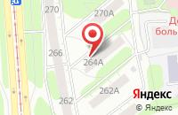 Схема проезда до компании Пространство любви в Ижевске