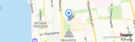 Платинум на карте Ижевска