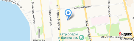 Удмуртская прокуратура по надзору за исполнением законов на особо режимных объектах на карте Ижевска