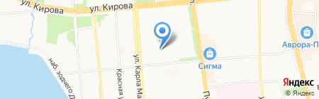 Удмурт Дунне на карте Ижевска