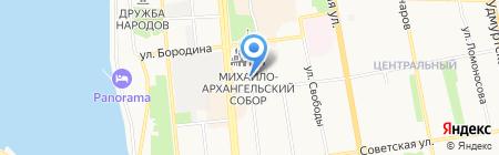 Центральная диспетчерская служба на карте Ижевска