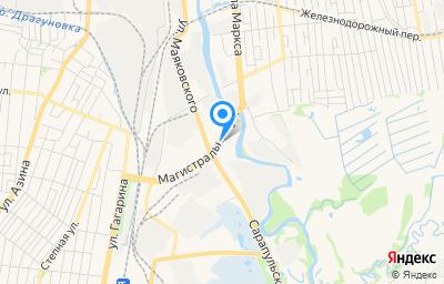 Местоположение на карте пункта техосмотра по адресу г Ижевск, ул Маяковского, д 39