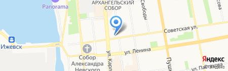 Интерьерная лавка на карте Ижевска