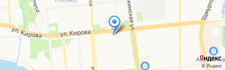 Apollo на карте Ижевска