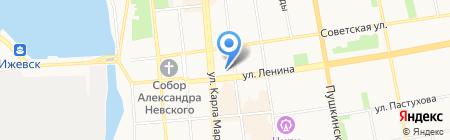 Ленина 5 на карте Ижевска