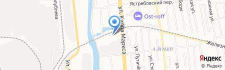 Урал-Сталь на карте Ижевска
