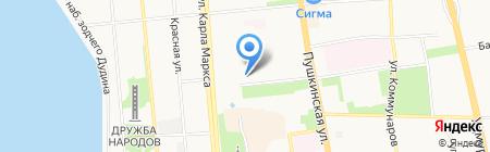 Регион на карте Ижевска