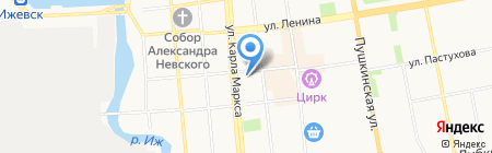 Айкай на карте Ижевска