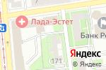Схема проезда до компании МТ-Сервис в Ижевске